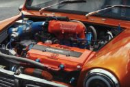 360 PS Austin Mini 16 Liter GT3076R Turbo Tuning 4 190x127 Irre: 360 PS Austin Mini   1,6 Liter und GT3076R Turbo