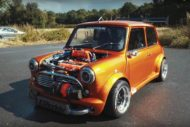 360 PS Austin Mini 16 Liter GT3076R Turbo Tuning 5 190x127 Irre: 360 PS Austin Mini   1,6 Liter und GT3076R Turbo