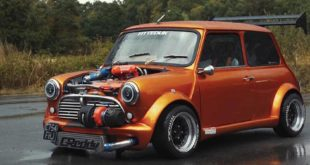 360 PS Austin Mini 16 Liter GT3076R Turbo Tuning 7 310x165 Irre: 360 PS Austin Mini   1,6 Liter und GT3076R Turbo