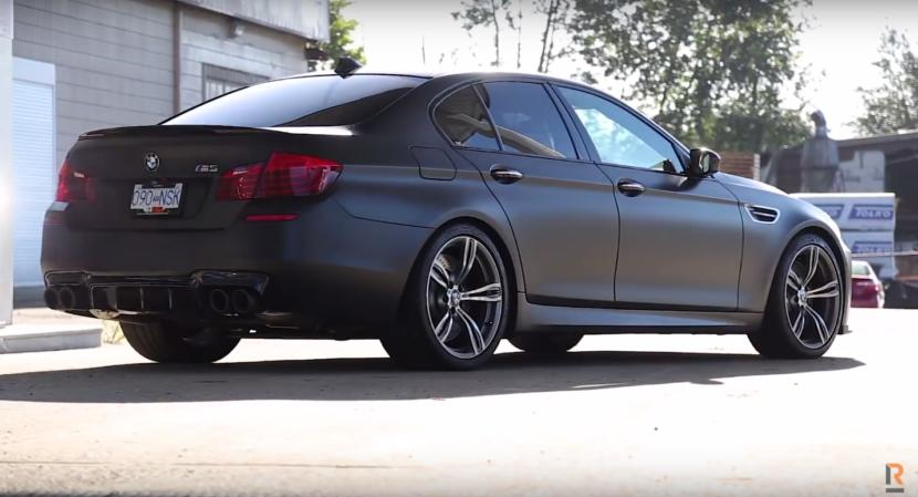 650 PS BMW F10 M5 4.4L BiTurbo V8 im Test 2 Video: 650 PS BMW F10 M5 4.4L BiTurbo V8 im Test