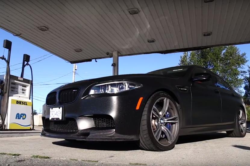 650 PS BMW F10 M5 4.4L BiTurbo V8 im Test Video: 650 PS BMW F10 M5 4.4L BiTurbo V8 im Test