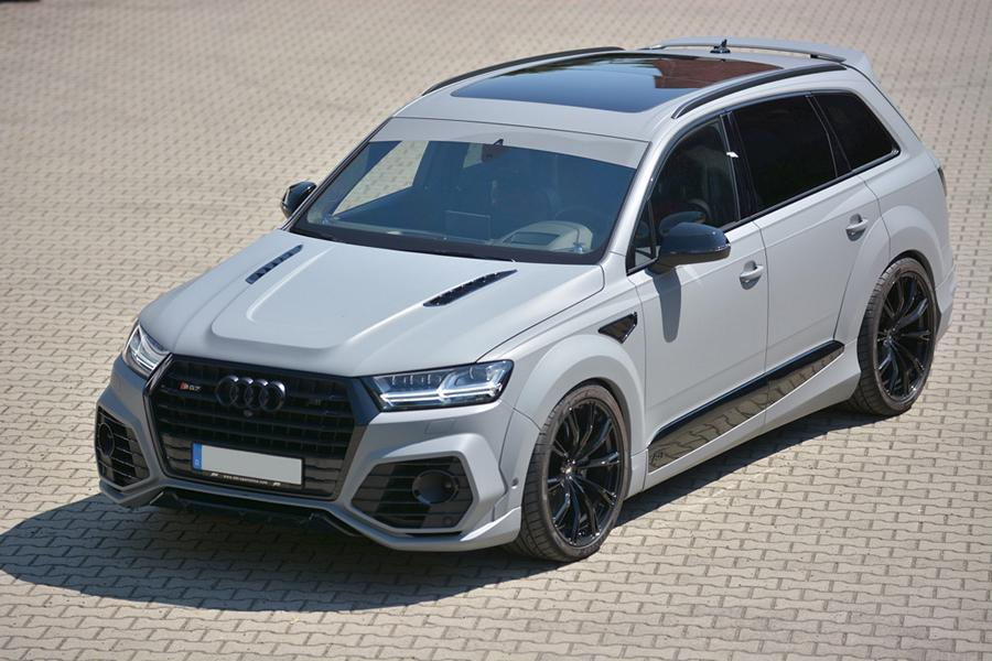 ABT Widebody Audi Q7 Motorhaube GSC German Special Customs Tuning 1 Fett: ABT Widebody Audi Q7 mit Motorhaube von GSC