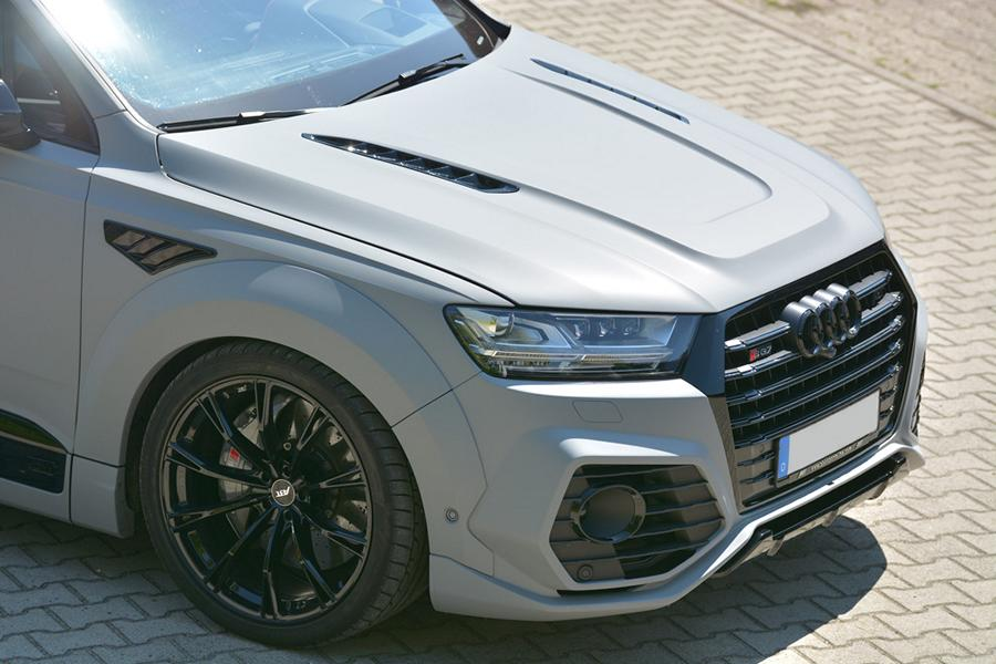 ABT Widebody Audi Q7 Motorhaube GSC German Special Customs Tuning 3 Fett: ABT Widebody Audi Q7 mit Motorhaube von GSC
