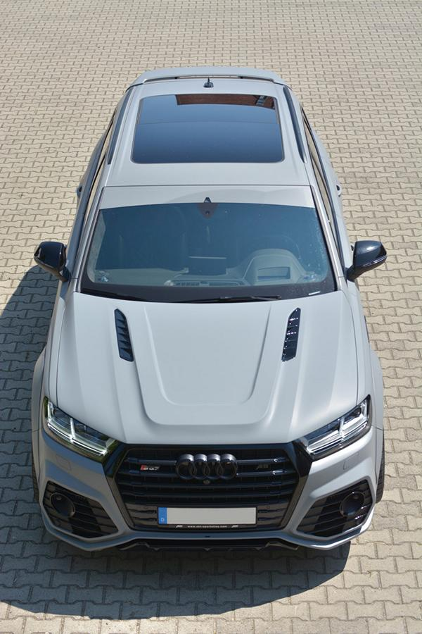 ABT Widebody Audi Q7 Motorhaube GSC German Special Customs Tuning 5 Fett: ABT Widebody Audi Q7 mit Motorhaube von GSC