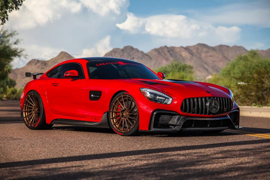 ADV.1 Wheels DARWIN PRO Mercedes AMG GTs C190 Tuning 118 Wow   ADV.1 Wheels am DARWIN PRO Mercedes AMG GTs