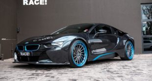ADV.1 Wheels Vorsteiner VF E Bodykit BMW i8 Tuning 7 310x165 ADV.1 Wheels & Vorsteiner Bodykit am RACE! BMW i8