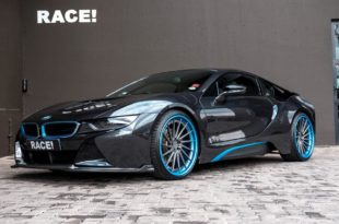 ADV.1 Wheels Vorsteiner VF E Bodykit BMW i8 Tuning 7 310x205 ADV.1 Wheels & Vorsteiner Bodykit am RACE! BMW i8