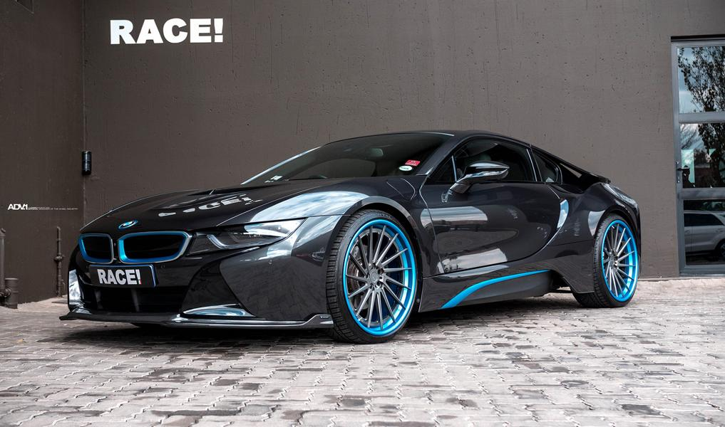 ADV.1 Wheels Vorsteiner VF E Bodykit BMW i8 Tuning 7 ADV.1 Wheels & Vorsteiner Bodykit am RACE! BMW i8