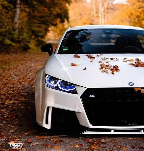AUDI TTrs BMW xDrive Mix Mixed Baby   AUDI TTrs als Widebody BMW TM xDrive