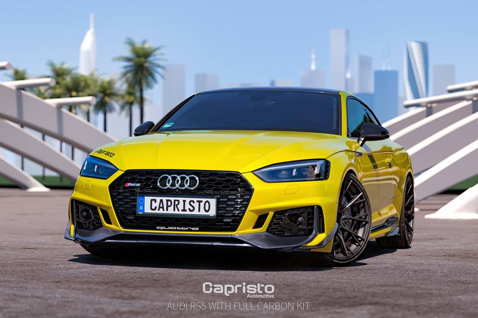 Capristo Automotive Carbon Bodykit Audi RS5 B9 Tuning 1 Capristo Automotive Carbon Bodykit für den Audi RS5
