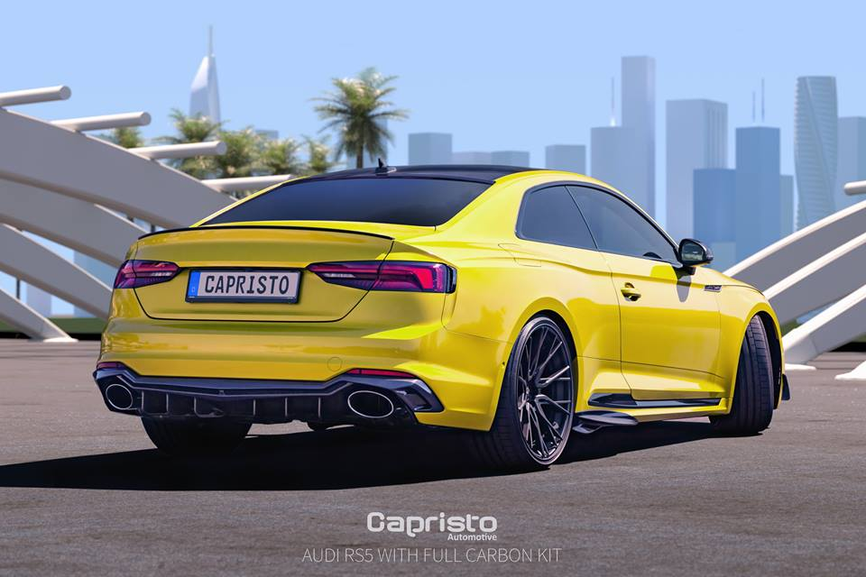 Capristo Automotive Carbon Bodykit Audi RS5 B9 Tuning 4 Capristo Automotive Carbon Bodykit für den Audi RS5