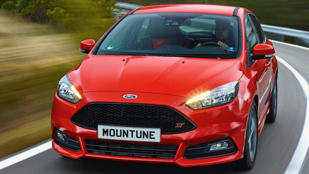 Ford Focus ST Mountune m460D Chiptuning 1 Ford Focus ST mit Mountune m460D Kit 20 PS & 50 NM stärker