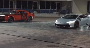 Kompressor Lamborghini Huracan vs. Dodge Demon 1 310x165 Video: Dragrace   Kompressor Lamborghini Huracan vs. Dodge Demon
