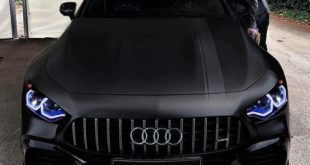 Mercedes AMG GT 4 T%C3%BCrer Coup%C3%A9 Audi BMW Tuning 310x165 Etwas breiter   2019 Range Rover Evoque Widebody by tuningblog