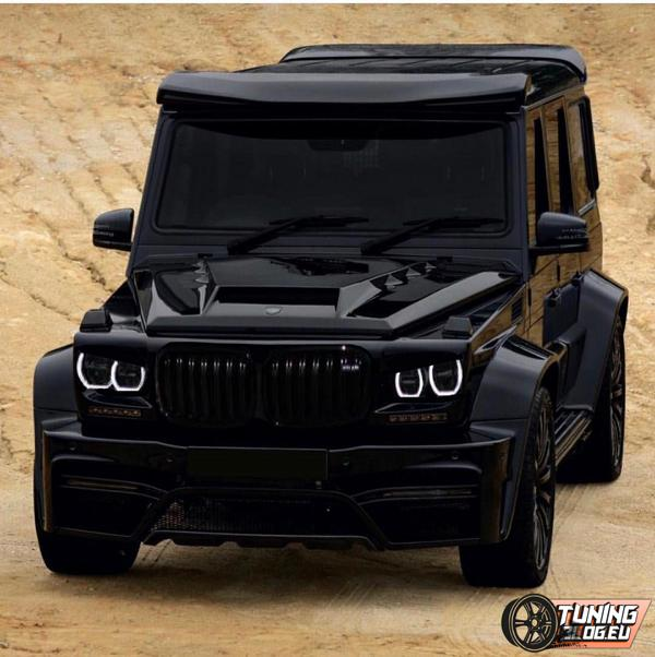 mercedes g class w463 with bmw x5m f85 front. Black Bedroom Furniture Sets. Home Design Ideas