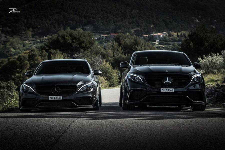 Mercedes GLE63 AMG C292 Tuning Z Performance 4 Dezent: Mercedes GLE63 AMG auf Z Performance Felgen