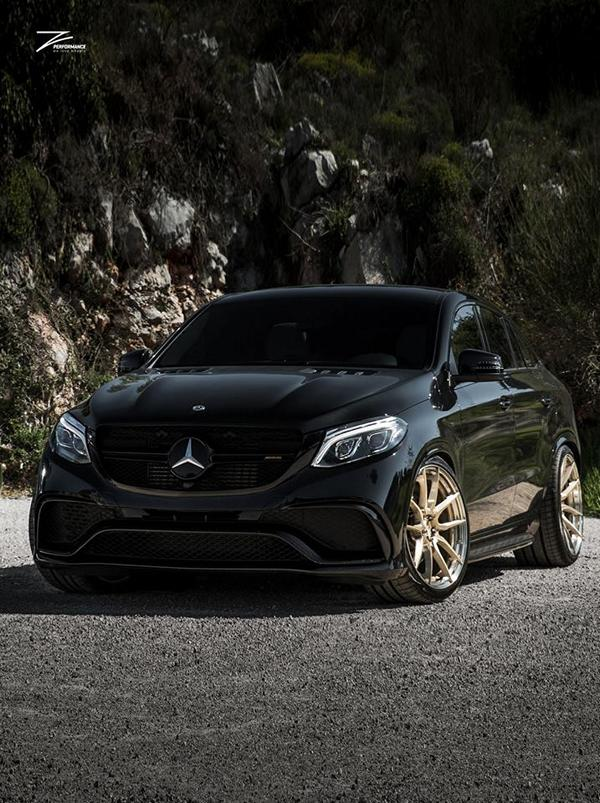 Mercedes GLE63 AMG C292 Tuning Z Performance 5 Dezent: Mercedes GLE63 AMG auf Z Performance Felgen