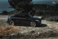 Mercedes GLE63 AMG C292 Tuning Z Performance 6 190x127 Dezent: Mercedes GLE63 AMG auf Z Performance Felgen
