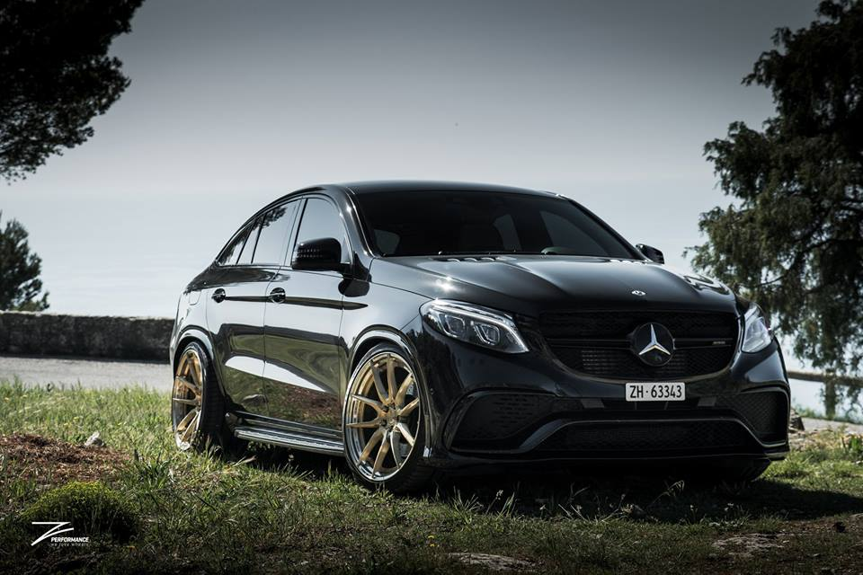 Mercedes GLE63 AMG C292 Tuning Z Performance 7 Dezent: Mercedes GLE63 AMG auf Z Performance Felgen
