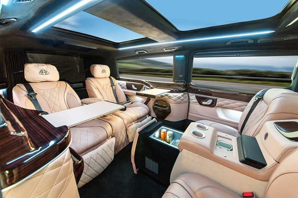 mercedes v klasse w447 maybach umbau tuning 5. Black Bedroom Furniture Sets. Home Design Ideas