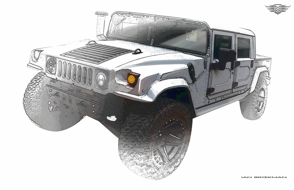Mil Spec Automotive 66 Liter Hummer H1 V8 003 Tuning 7 Nummer 3! Mil Spec Automotive 6,6 Liter Hummer H1 V8