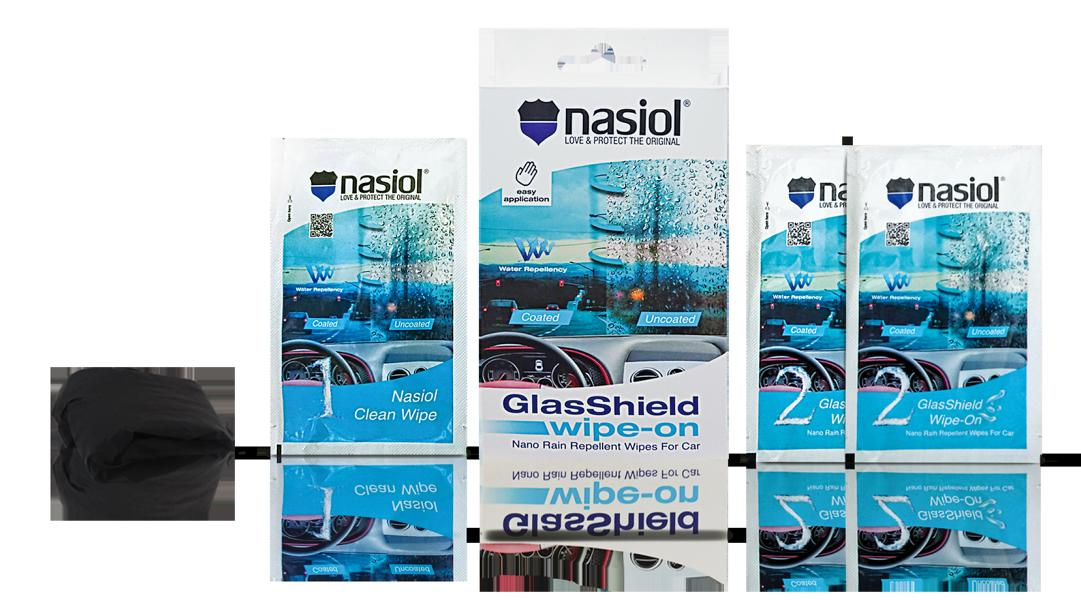 Nasiol GlasShield Wipe On 2018 Tuning 4 Scheibenwischer ade   Nasiol GlasShield Wipe On 2018