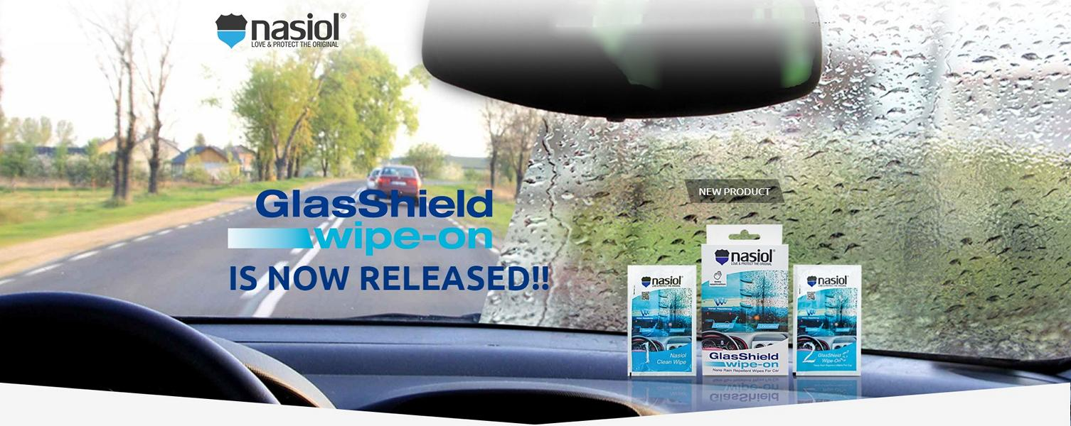 Nasiol GlasShield Wipe On 2018 Tuning 6 Perlt das ab? Nasiol GlasShield Wipe On 2018 im Test