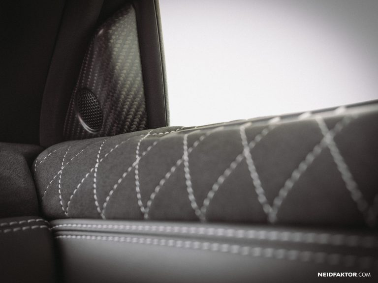 Envy factor Nissan GT R Godzilla Tuning interior 19 Alcantara as interior equipment? You have to know that!