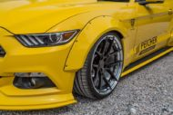 Peicher Performance Widebody Ford Mustang Cabrio Tuning 14 190x127 Brutal   Peicher Performance Widebody Ford Mustang Cabrio