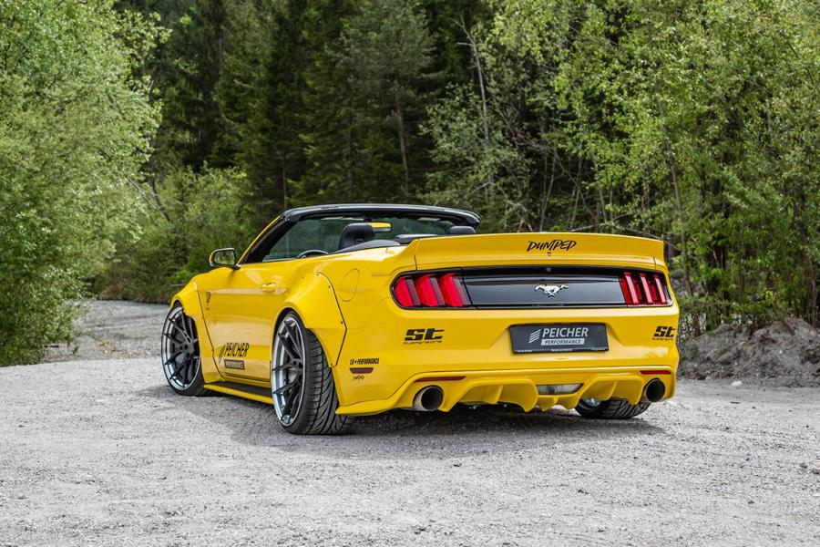 brutal peicher performance widebody ford mustang cabrio. Black Bedroom Furniture Sets. Home Design Ideas