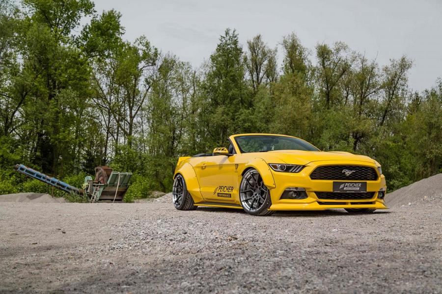 Peicher Performance Widebody Ford Mustang Cabrio Tuning 4 Brutal   Peicher Performance Widebody Ford Mustang Cabrio
