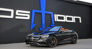 Posaidon S63 RS 850 Mercedes Cabrio A217 AMG 1 310x165 880 PS Mercedes AMG GT 4 Türer Coupé von Posaidon
