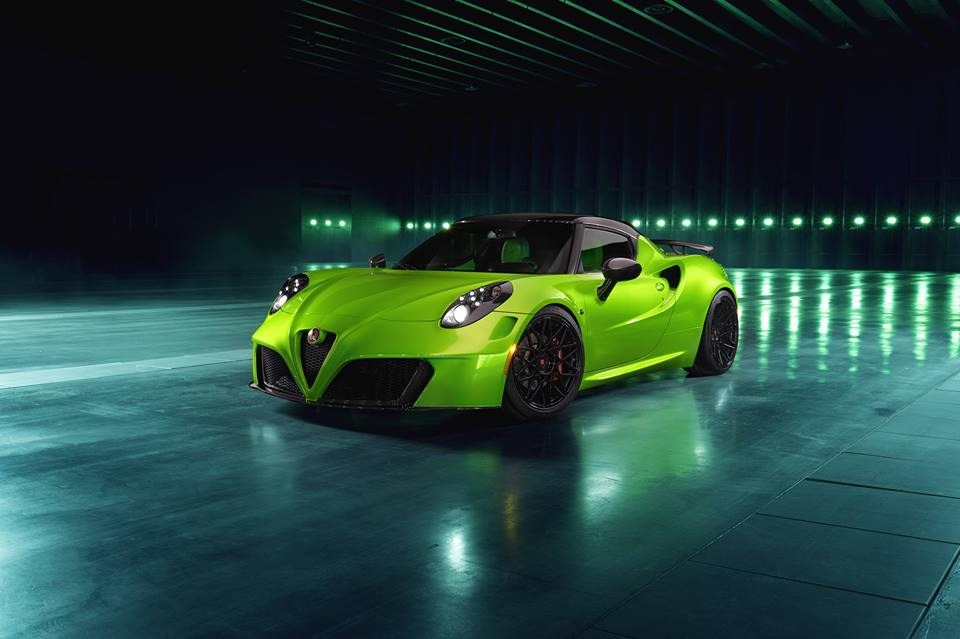THE GREEN ARROW Pogea Racing Alfa Romeo 4C Centurion 007 Tuning 1 THE GREEN ARROW   Pogea Racing Alfa Romeo 4C Centurion 007