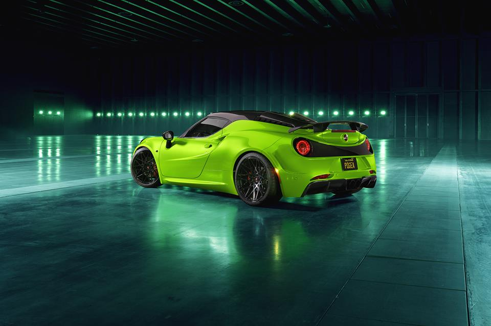 THE GREEN ARROW Pogea Racing Alfa Romeo 4C Centurion 007 Tuning 2 THE GREEN ARROW   Pogea Racing Alfa Romeo 4C Centurion 007