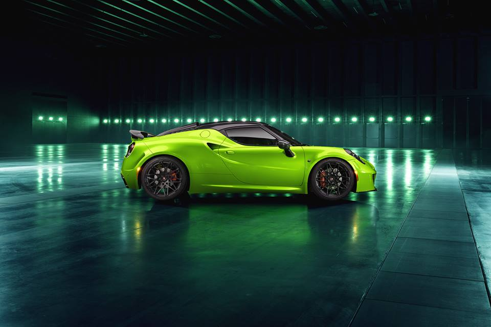 THE GREEN ARROW Pogea Racing Alfa Romeo 4C Centurion 007 Tuning 4 THE GREEN ARROW   Pogea Racing Alfa Romeo 4C Centurion 007