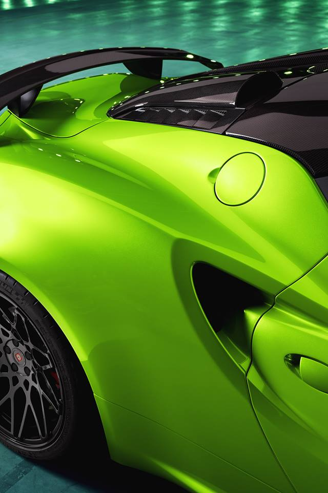 THE GREEN ARROW Pogea Racing Alfa Romeo 4C Centurion 007 Tuning 6 THE GREEN ARROW   Pogea Racing Alfa Romeo 4C Centurion 007