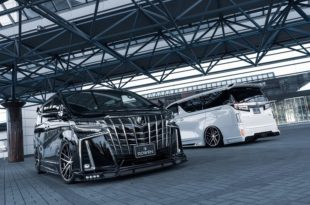 Toyota ALPHARD by Rowen International Tuning 14 310x205 Monster Bus: Toyota ALPHARD by Rowen International