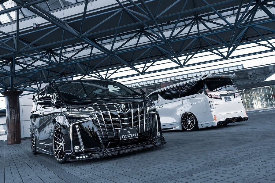 Toyota ALPHARD by Rowen International Tuning 14 Monster Bus: Toyota ALPHARD by Rowen International