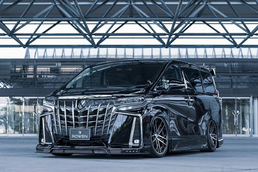 Toyota ALPHARD by Rowen International Tuning 3 Monster Bus: Toyota ALPHARD by Rowen International