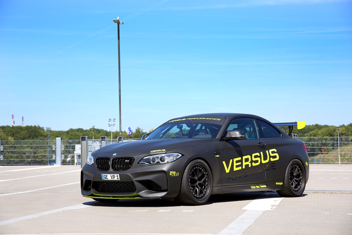 Versus Performance BMW M2 F87 Tracktool 2 1:08,2 Minuten! Versus Performance BMW M2 in Hockenheim