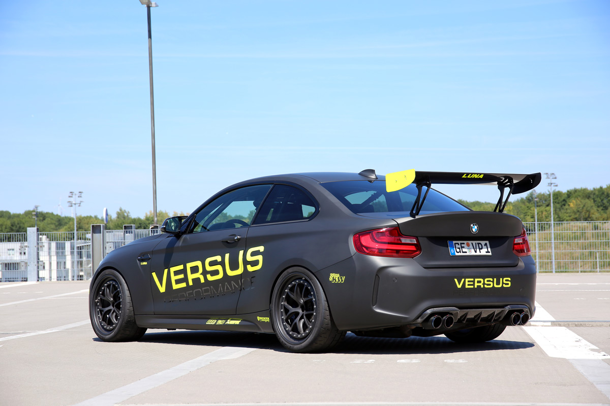 Versus Performance BMW M2 F87 Tracktool 7 1:08,2 Minuten! Versus Performance BMW M2 in Hockenheim