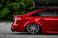 Vossen Avery Red Chrom Audi A6 C7 Airride Tuning 1 190x127 Vossen Alus am Avery Red folierten Audi A6 mit Airride