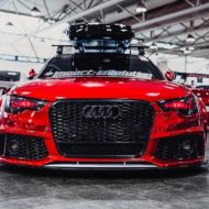 Vossen Avery Red Chrom Audi A6 C7 Airride Tuning 10 190x190 Vossen Alus am Avery Red folierten Audi A6 mit Airride