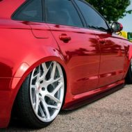 Vossen Avery Red Chrom Audi A6 C7 Airride Tuning 11 190x190 Vossen Alus am Avery Red folierten Audi A6 mit Airride
