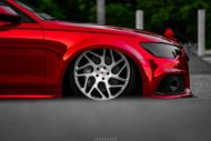 Vossen Avery Red Chrom Audi A6 C7 Airride Tuning 2 190x127 Vossen Alus am Avery Red folierten Audi A6 mit Airride