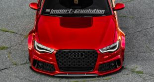 Vossen Avery Red Chrom Audi A6 C7 Airride Tuning 3 310x165 Tuning Day in Geesthacht   Polizei checkt Fahrzeuge