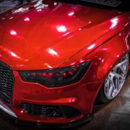 Vossen Avery Red Chrom Audi A6 C7 Airride Tuning 6 190x190 Vossen Alus am Avery Red folierten Audi A6 mit Airride