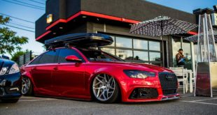 Vossen Avery Red Chrom Audi A6 C7 Airride Tuning 9 310x165 Tiefgang   Audi A6 (C7) Avant mit Vollfolierung u. Airride
