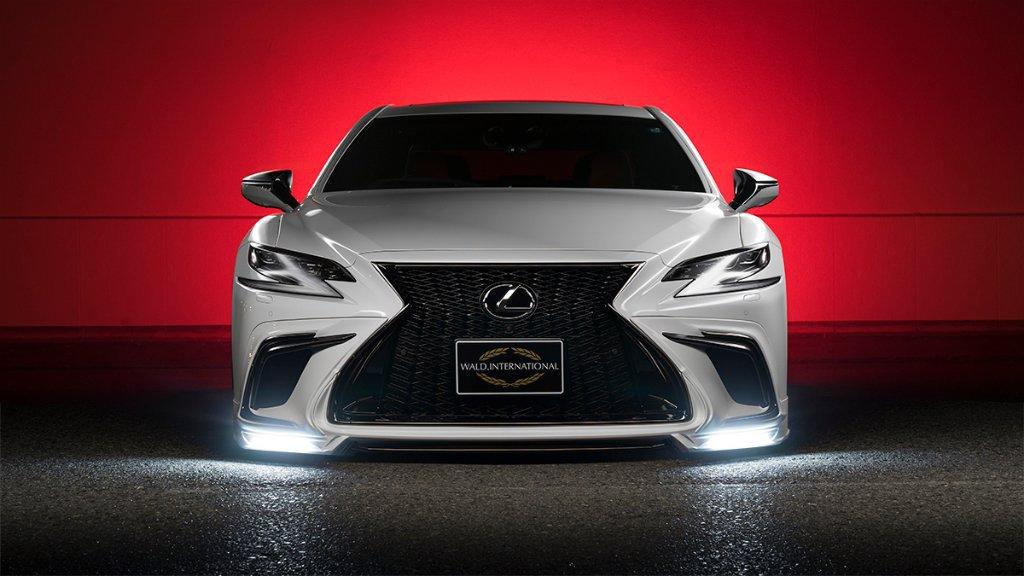 2018 Lexus LS Bodykit Tuning Wald International 4 2018 Lexus LS mit Bodykit vom Tuner Wald International