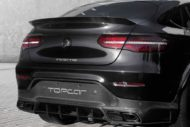 2019 Inferno Mercedes AMG C253 GLC 63 S Coup%C3%A9 Tuning Widebody 5 190x127 Volle Ladung Carbon: Mercedes GLC Inferno Bodykit by TopCar